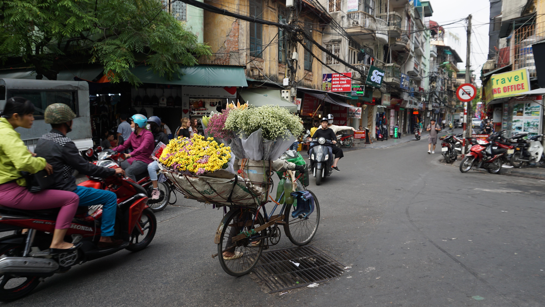 Hanoi, tra motorini e street food – parte 1